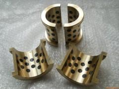 自润滑轴瓦|石墨镶嵌轴瓦|铜轴瓦|光铜轴瓦套|双法兰轴瓦