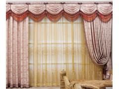 专业制作家庭窗帘 工程窗帘 布艺窗帘经销商