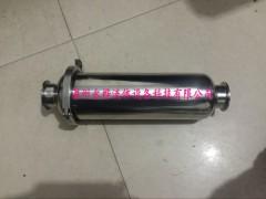 管道过滤器 不锈钢卫生级快装式过滤器 卡箍式过滤器
