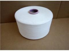 潍坊价格合理的涡流纺涤纶纱供应:涡流纺涤棉纱32支