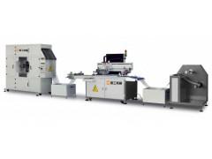 不干胶标签丝印机,卷料PVC不干胶丝网印刷机,高精度丝印机