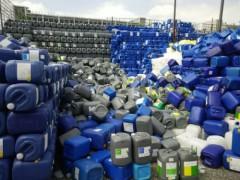 深圳塑料桶|广东专业的深圳二手塑料桶回收哪家提供