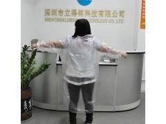 厂家直销 特价批发爆款一次性PE雨衣 男女通用雨衣