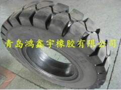 正品实心轮胎650-10载重车轮胎