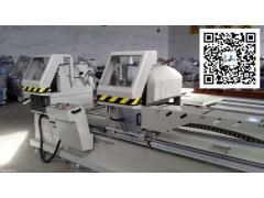 铝型材45°双头锯切割机,隔热断桥铝型材精密切割锯床供应商