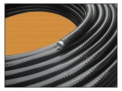 透明塑料软管|品质好的黑色金属平塑绕性管供应商