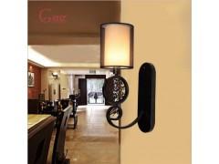 現代中式簡約優雅壁燈上哪買比較好|后現代酒店壁燈
