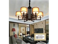 中山專業的中式創意高檔客廳餐廳酒店鐵藝吊燈廠家推薦 創意吊燈