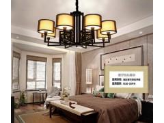 哪里可以買到價位合理的中式創意高檔客廳餐廳酒店鐵藝吊燈|客廳燈臥室燈批發廠家