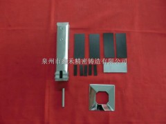 宁夏玻璃夹厂家 专业的玻璃夹鑫禾精密铸造供应