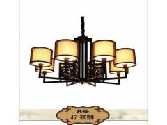 非标酒店工程:品质好的中式创意高档客厅餐厅酒店铁艺吊灯大量供应