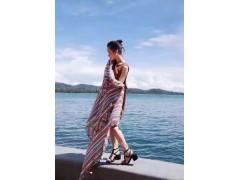 手绘新款围巾 品质好的巴厘纱锻面斜?#31080;?#27454;围巾供应