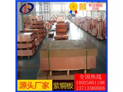 T1中厚紫銅板 C1020無氧紫銅板 TP2磷脫氧銅板