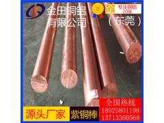 C10200無氧銅板 紫銅棒現貨供應 c2100磷脫氧銅帶