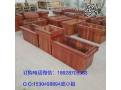 园林花箱找厂家 广东花车 户外家具厂专业生产木制花箱园林花箱