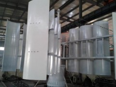 100kw垂直轴风力发电机、永磁、低速、直驱发电机
