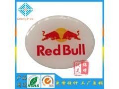 广东厂家定制 商务展示冷藏柜铭牌加工水晶滴胶标牌生产滴塑标贴