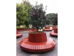 广州仿木树围椅的样式图片及特点品牌实广场木制树围椅厂家