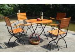公園鑄鐵休閑椅,戶外套桌椅椅,園林休息椅,庭院椅子