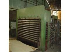 压板机内部结焦积炭的清洗方法