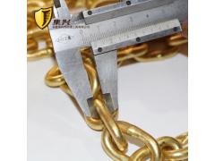 兴杰生产防爆手拉葫芦链条手拉链条起重链条6米铜链子