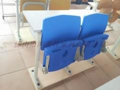 培训室连排桌椅定制,连排培训桌椅广东鸿美佳厂家生产