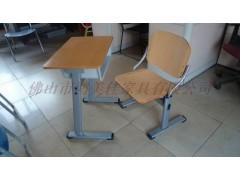 小学生钢木课桌椅,广东鸿美佳厂家批发价格提供钢木课桌椅