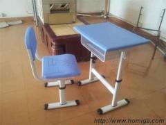 塑钢小学生课桌椅,广东鸿美佳厂家提供优质塑钢学生课桌椅