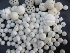 高纯氧化铝开孔瓷球