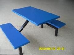 學校餐廳玻璃鋼快餐桌椅,廣東鴻美佳批發價格提供玻璃鋼快餐桌椅
