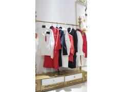 17韓版潮品風衣外套時尚女裝 品牌折扣庫存尾貨批發