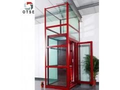 江蘇微型螺桿家用電梯 無機房無障礙觀光別墅家用電梯
