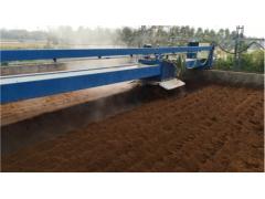 异位发酵床遥控自动翻耙机 猪场环保污水处理 零排放养殖
