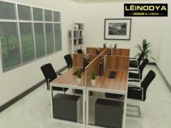 佛山品质铝合金板式家具雷诺帝娅现代环保办公桌电脑桌
