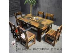 老船木茶桌茶幾餐桌辦公桌