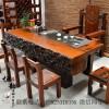 ?#27927;?#26408;家具茶桌椅组合 功夫茶几古典艺术厚板茶台 ?#30340;静?#20960;