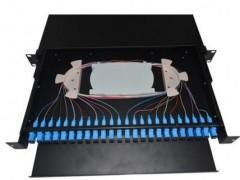 12口12芯SC抽拉式光纤配线架满配机房工程专用