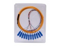 尾纤 束状尾纤12芯束状尾纤 光纤尾纤厂