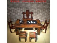 一個也發貨老船木茶桌椅組合小茶藝桌 實木仿古功夫喝茶桌古船木