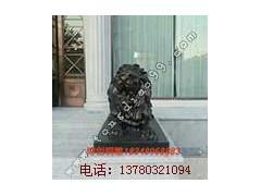 铜狮子雕塑铸造_河北博创铜雕厂订做铜狮子雕塑