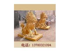 铜麒麟雕塑制作_河北博创铜雕厂制作