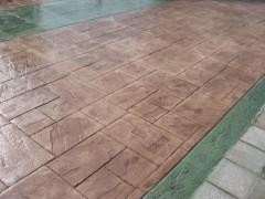 供應 彩色混凝土藝術壓花地面 高質量施工 免費模具試用
