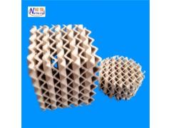 生产厂家供应陶瓷规整填料 吸收塔干燥塔用陶瓷波纹填料
