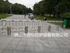 广州半自动升降柱价格,小区手动升降挡车桩,防撞隔离路障