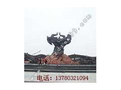 广场雕塑_河北博创铜雕厂订做广场雕塑