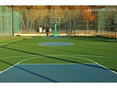 沈陽市水性硅pu籃球場、排球場材料施工、優質價廉!