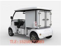 酒店布草车_电动载货车_带货箱的小货车