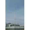 电厂独立避雷针,环形钢管接闪杆塔,变电站避雷塔,全国热销
