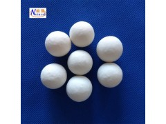 供应大量氧化铝瓷球 陶瓷散堆填料 规格齐全普通惰性瓷球