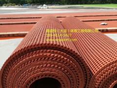 大连预制型橡胶跑道卷材施工 橡胶跑道卷材价格 三年质保